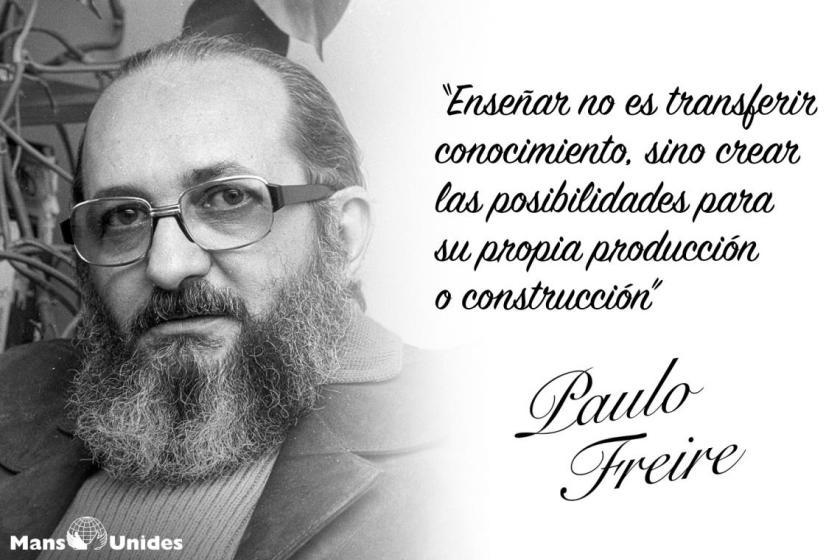 Educar Para El Cambio La Pedagogía De Paulo Freire Don